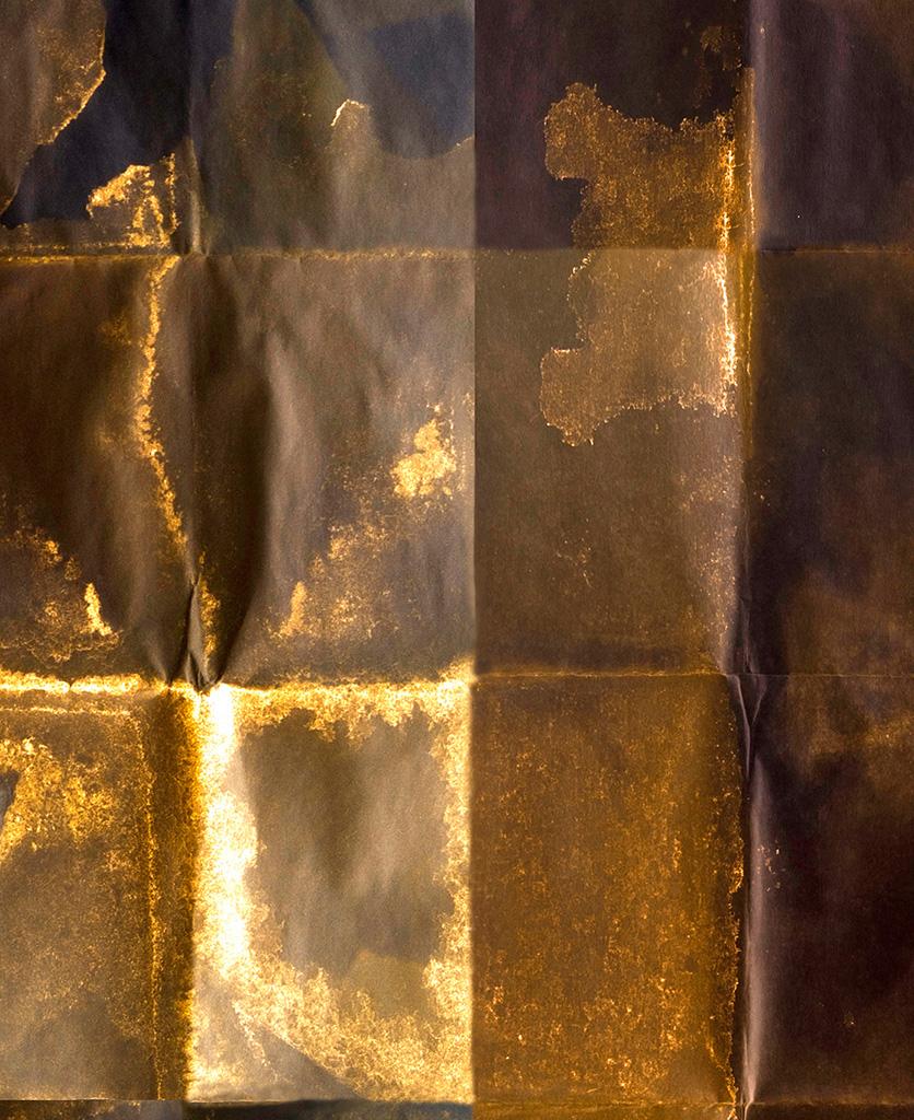 shibui copper wallpaper close up