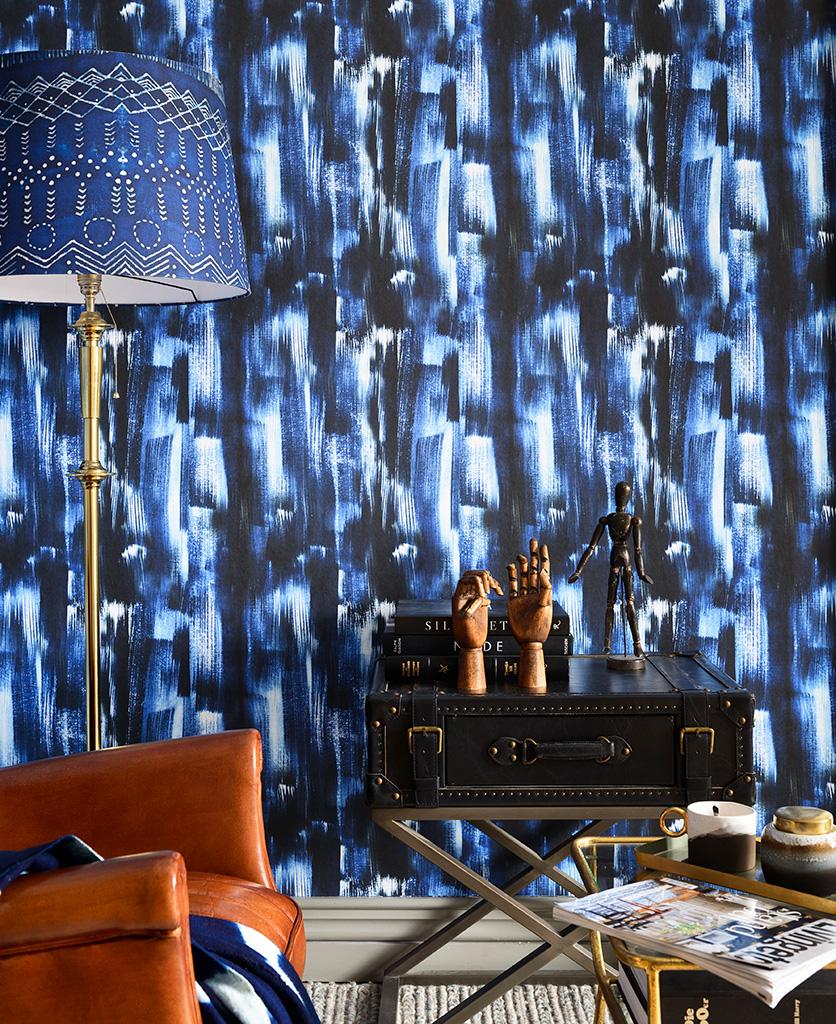 indigo madness wallpaper