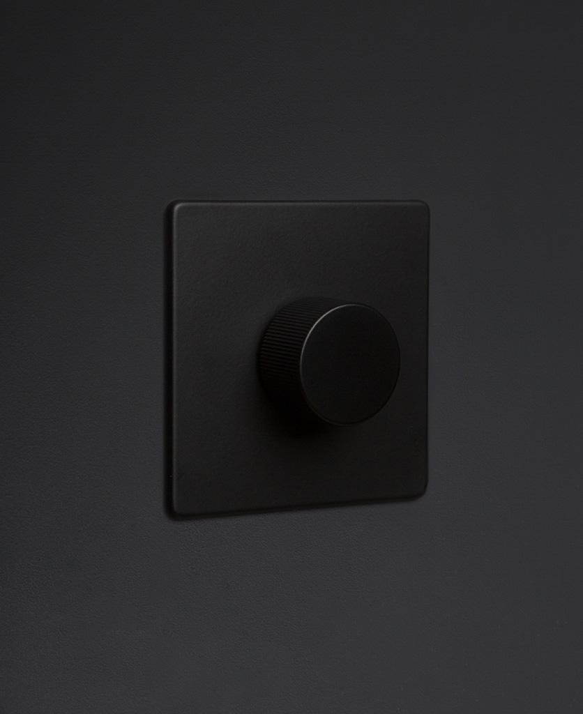 chunky 1g black dimmer
