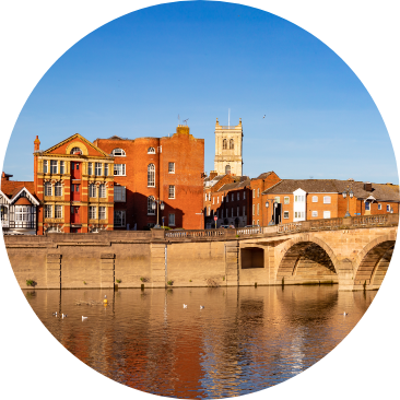 Photo of Worcester, one of the UK's most stylish cities