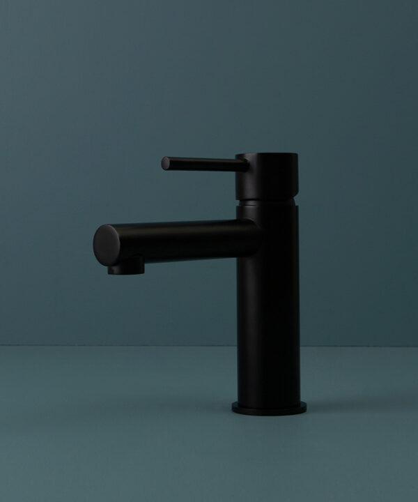 black kagera tap on blue background